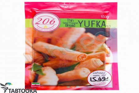 خمیر یوفکا منجمد 450 گ 206